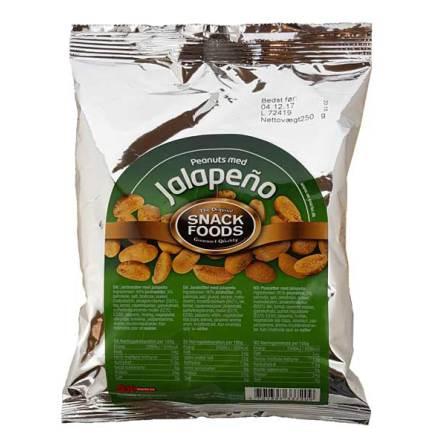 Jordnötter Jalapeño 250g Snack Foods