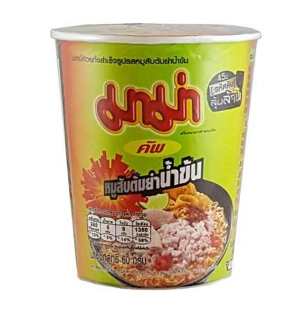 Mama Cup Creamy Tom Yum Minced Pork 60g