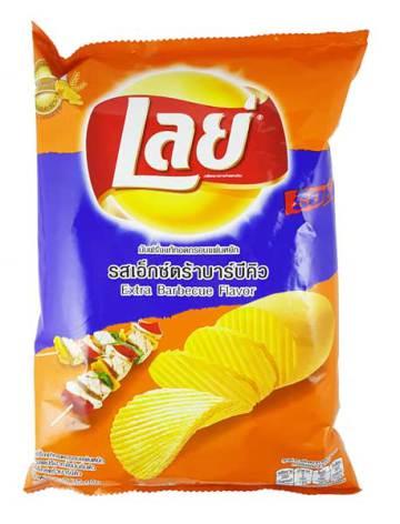 Lay Potato Chips BBQ 75g