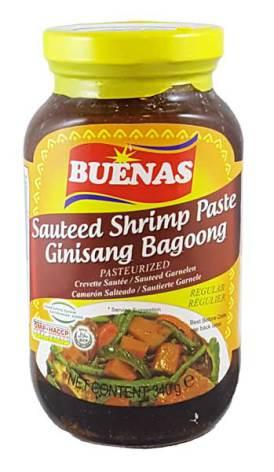 Shrimp Paste Bagoong Original 340g Buenas