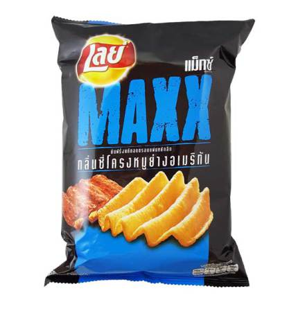 Lay Potato Chips Maxx Spareribs 71 g