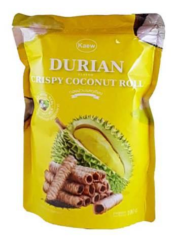 Crispy Roll Durian 100g Kaew
