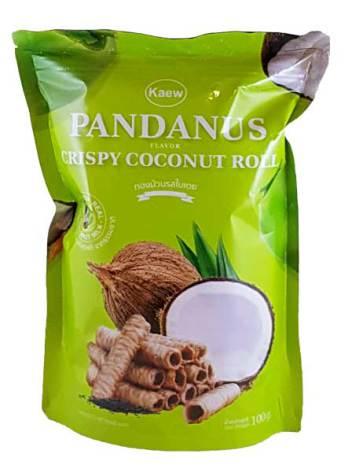 Crispy Roll Pandanus 100g Kaew