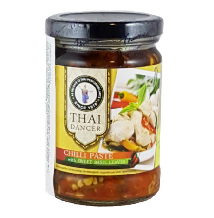 Chili Paste Sweet Basil 200 g Thai Dancer