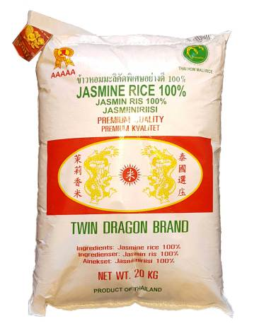 Jasminris 20 kg Twin Dragon