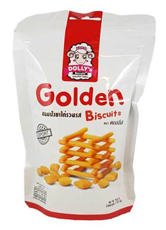 Golden Biscuits 70g Dolly´s