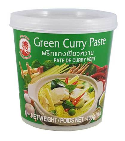 Green Curry Paste 400g Cock