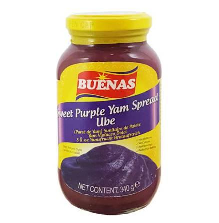 Sweet Purple Jam (Ube) Spread 340g Buenas