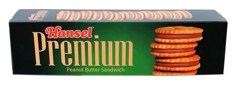 Peanut Butter Sandwich 127g Hansel