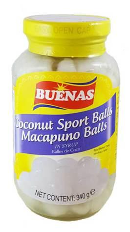 Coconut Sweet Macapuno Balls 340g Buenas