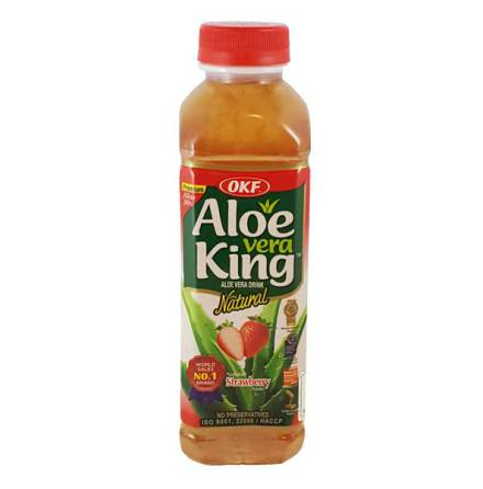 Aloe Vera Drink Strawberry 500ml OKF