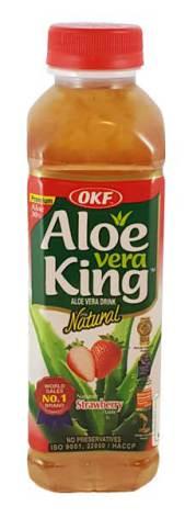 Aloe Vera Drink Strawberry 500ml OKF