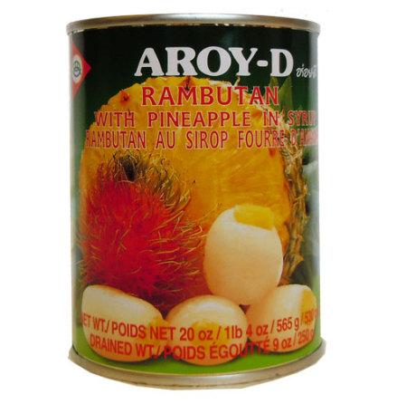 Rambutan & Ananas 565 g Aroy-D