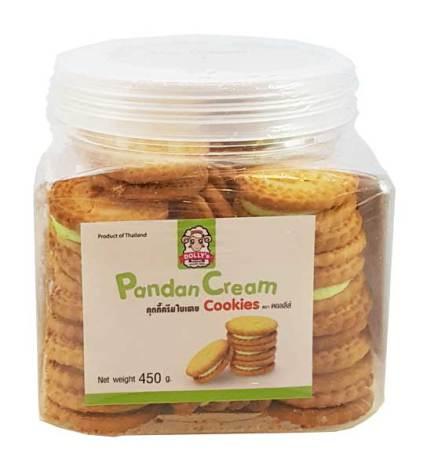 Pandan Cream Cookies 450g Dollys