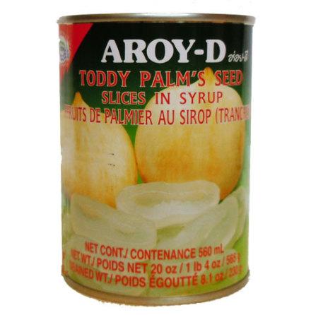Toddy Palm Slice 565 g Aroy-D