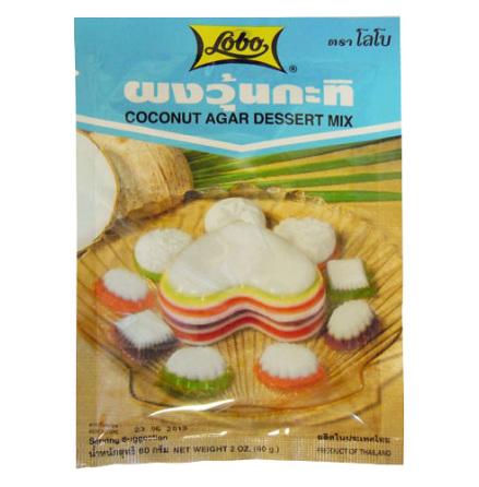 Coconut Agar Dessert Mix