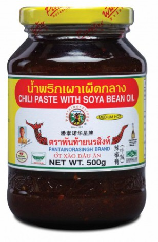 Chili Paste w Soya Bean Oil (Medium Hot) Pantai