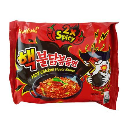 Hot Chicken Ramen 2xSpicy 140g Samyang