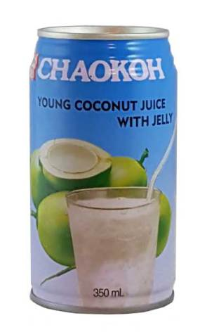 Young Coconut Juice with Jelly 350 ml Chaokoh