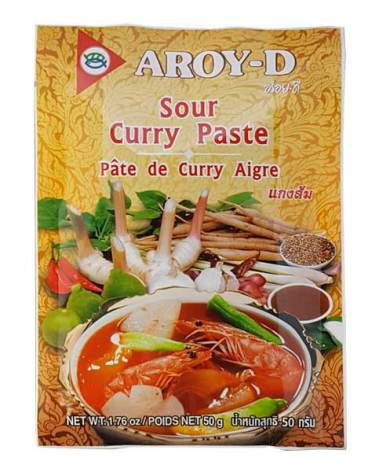Sour Curry Paste 50g Aroy-D