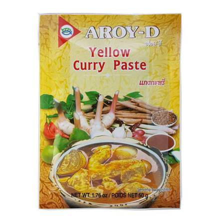 Yellow Curry Paste 50g Aroy-D