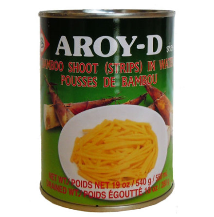 Bamboo Shoot Strip 540 g Aroy-D