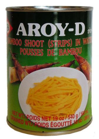 Bamboo Shoot Strip 540 g Aroy-D