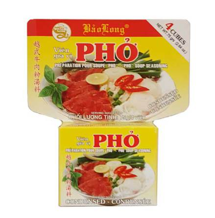"Soup Seasoning ""Pho Bo"" 75g Bao Long"