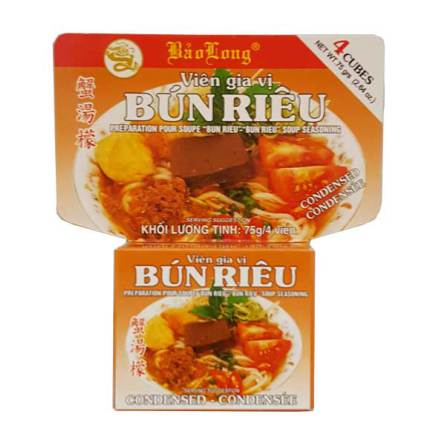 "Soup Seasoning ""Bun Rieu"" 75g Bao Long"