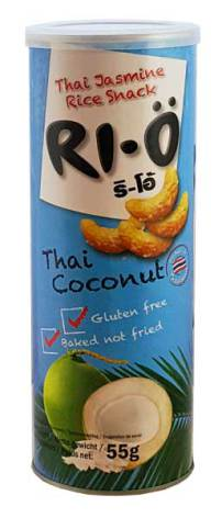 RI-Ö Thai Jasmine Rice Snack Coconut 55g