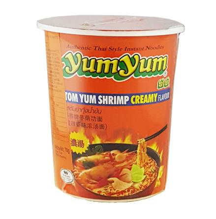 Yum Yum CUP Tom Yum Shrimp Creamy