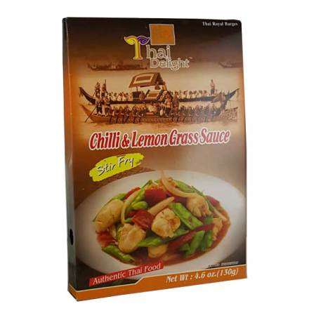 Chili & Lemongrass Sauce 130 g Thai Delight
