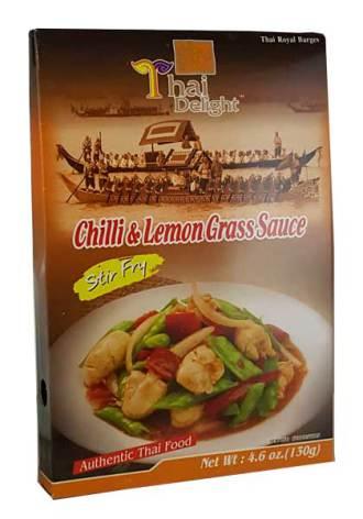Chili & Lemongrass Sauce 130 g Thai Delight