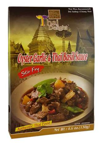 Oyster Garlic & Basil Sauce 130 g Thai Delight