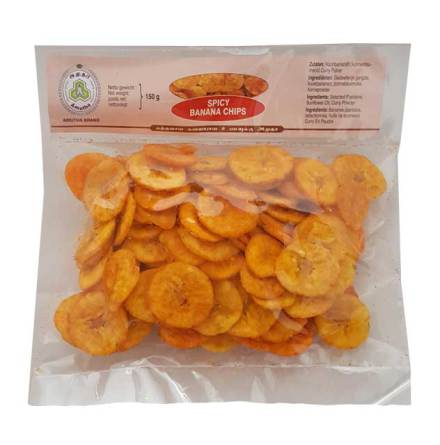 Banana Chips Spicy 150g Amutha