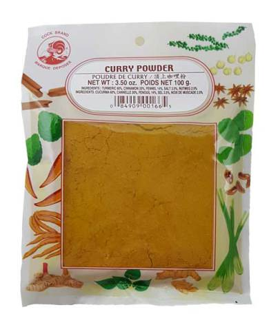 Curry Powder 100g Cock
