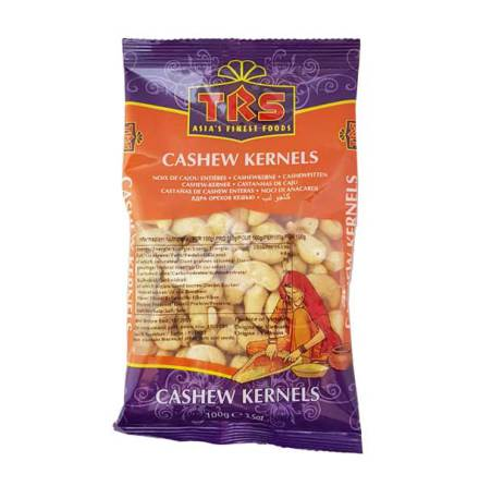 Cashew Kernels 100g TRS