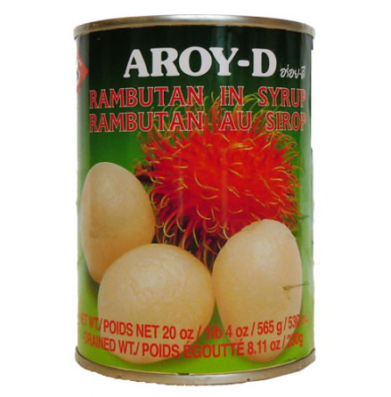 Rambutan in Syrup 565 g Aroy-D