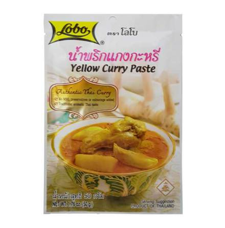 Yellow Curry Paste 50 g Lobo