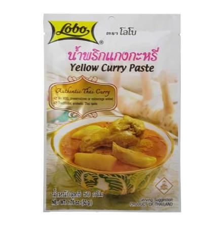 Yellow Curry Paste 50 g Lobo