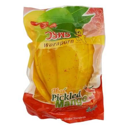 Pickled mango w/chili 180g Woraporn