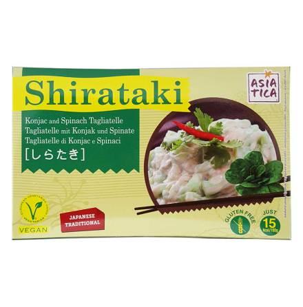 Shirataki Konjac Tagliatelle Spinach 200 g Asia-Tica