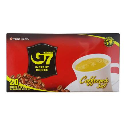 Coffee G7 3in1 320g Trung Nguyen