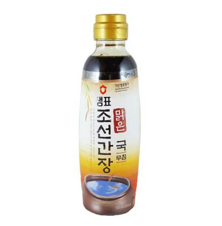 Soy Sauce for Soup Chosun Natural 500 ml Sempio