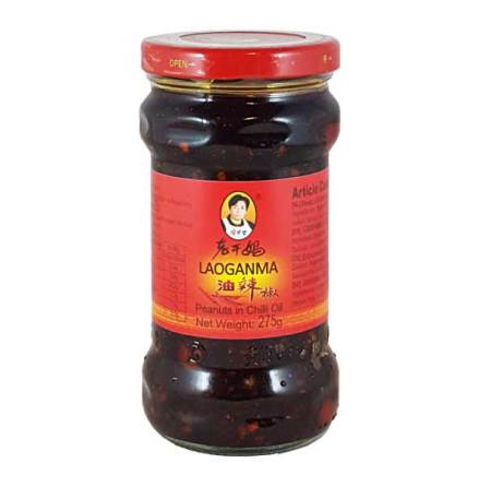 Peanuts in Chili Oil 275 g Laoganma