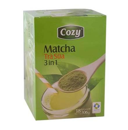 Matcha Milk Tea 3in1 306g Cozy
