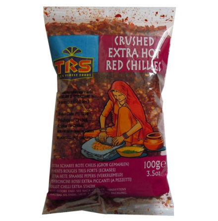 Crushed Red Chillies 100 g  TRS