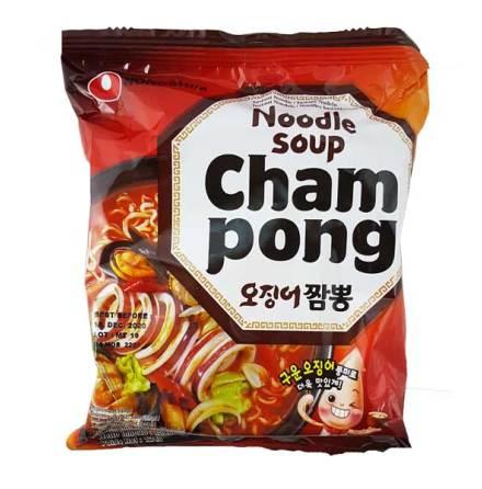 Champong Ramyun Noodle Soup 124g Nongshim