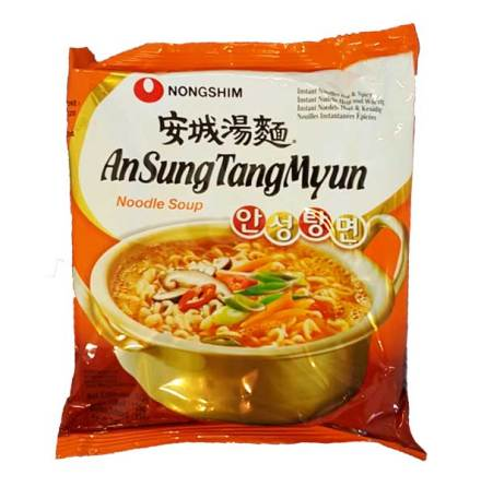 Ansungtangmyun Noodles 120g Nongshim
