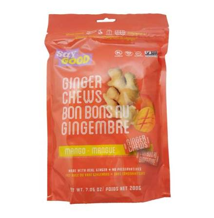Ginger Chews Mango 200g Saygood